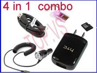 car+usb charger htc Bass 2 G4(Tattoo) Espresso Hero 200 MyTouch 4G oem