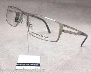 Original PORSCHE DESIGN Brille P8155 col B silber TITAN