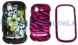 Samsung Intensity U450 2 Pc Bouquet + Zebra Case Cover