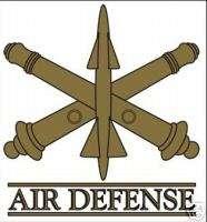 US ARMY AIR DEFENSE DECAL