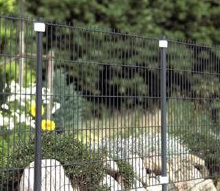 Zaunbau mit System   Modulbausteine für das Einstab Matten Komplett