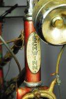1953 Schwinn World Traveler womens bike bottle generator light