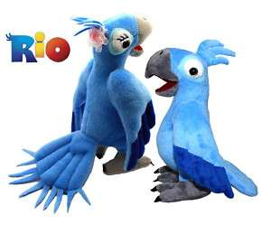 RIO Parrot Stuffed Plush Toys & 8.5 Great Xmas