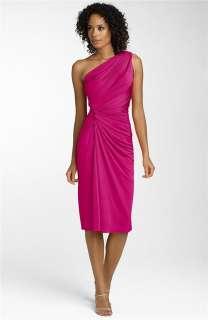 298 Tadashi Shoji Ruched Matte Jersey Dress Sz XL