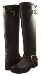 NEW Steve Madden Womens Lindley Brown High Boots US SIZES