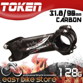 TOKEN ROAD MTB Ultra Lite Carbon Alloy Stem 31.8mm 90