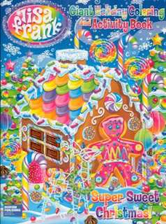 Lisa Frank Super Sweet Christmas Holiday Coloring and Activity Book