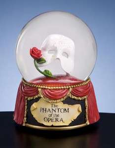 San Francisco Music Box Phantom of the Opera Mask with Rose Water