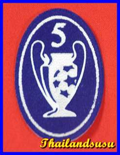 LIVERPOOL Trophy 5 UCL Champion Football Soccer Patch