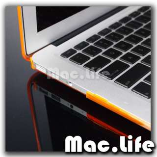 ORANGE Crystal Hard Case Cover for Macbook Air 13 A1369