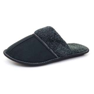 Mens Slippers Soft Chenille Slip Resistant Rubber Outsole Sandals