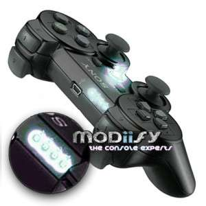 WHITE Leds for PS3 Controller 1234 Player/PS Button Moding kit 6