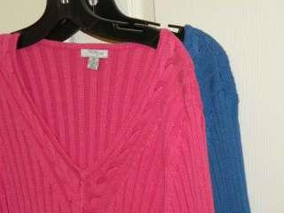 Street Studio XLarge Cotton Stretch Sweater Top Women NWT$40