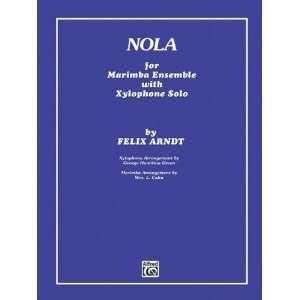 Nola (9780757926266) Alfred Publishing Books