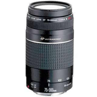 Canon EF 75 300mm USM Mark III Lens   BRAND NEW (0082966214073)