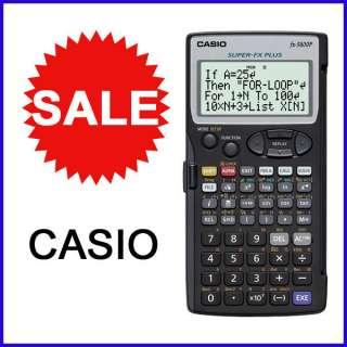 New CASIO FX 5800P Scientific Calculators FX5800P