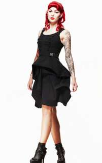Spin Doctor Departed Steampunk Dress Cyber Punk Gothic Military Hell