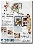 1946 Crosley Refrigerator   Why Be A Juggler Print Ad
