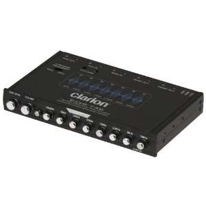 CLARION EQS746 HALF DIN GRAPHIC EQUALIZER WITH BUILT IN