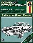Dodge Dart repair manual