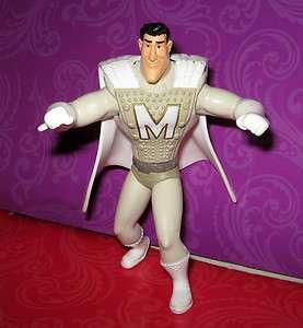 Dreamworks Megamind Metro Man Superheroes Action Figure Figurine Cake