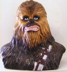 Star Wars CHEWBACCA Cookie Jar PROTOTYPE Statue UNIQUE