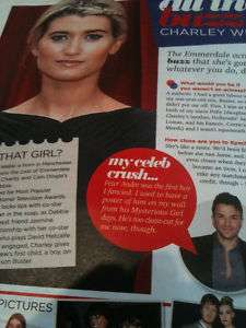 CHARLEY WEBB Greg Lake KYLIE MINOGUE Gary Barlow UK Mag
