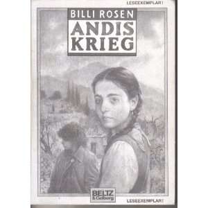 Andis Krieg: .de: Billi Rosen: Bücher