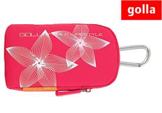 NEW GOLLA GENIE PINK G760 DIGITAL CAMERA CASE BAG