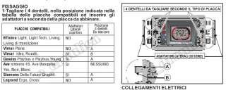 CRONOTERMOSTATO FANTINI COSMI C51T FILO PLACCA INCASSO