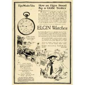 1914 Ad Lord Lady Elgin National Watches Pricing Timekeeper Pocket