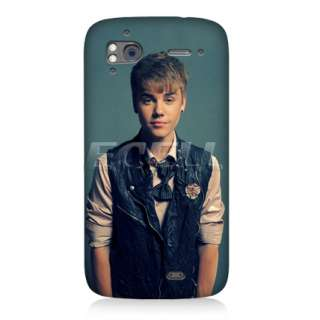 JUSTIN BIEBER BACK CASE COVER FOR HTC SENSATION XE