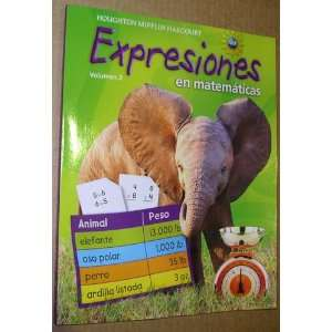 Expression, Grade 3 Student Activity Book: Houghton Mifflin Harcourt