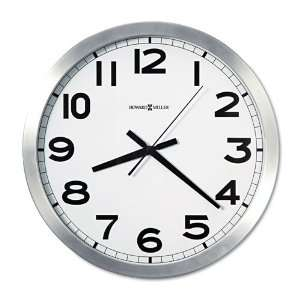 Howard Miller  Round Wall Clock, 15 3/4in, 1 AA Battery