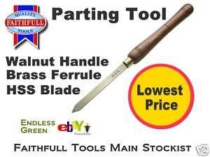 Faithfull Woodturning Tool   Parting Tool   Wood Lathe
