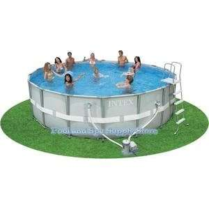 Intex Ultra Frame Metal Pool   18 x 52 Sports