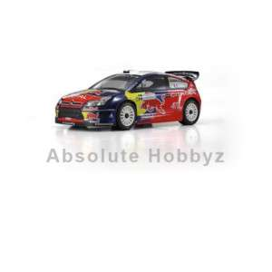 Kyosho DRX 4WD 1/9th Citroen C4 GP R/S Nitro Rally Car (KYO31043B)