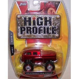 Jada Toys 1/64 Scale Diecast High Profile Volkswagen Bus