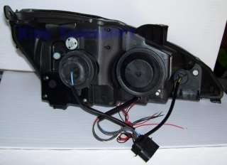Fari ANGEL EYES A LED NERI BLACK FORD FOCUS 1 01 04