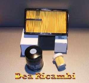 kit 3 filtri tagliando MICROCAR AIXAM mot. KUBOTA Z402