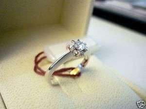 Anello Recarlo oro bianco diamanti solitario bellissimo
