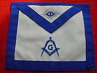 franc maçonnerie tablier maître York masonic apron