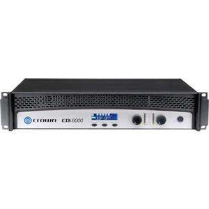 Crown Audio CDi 6000 2100 Watt per Channel, 2 Channel, Power Amplifier