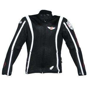 Joe Rocket Womens Kawasaki Blaze Jacket   Small/Black/White