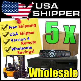 5x Wholesale Openbox S10 HD PVR HDMI DVB S2 FTA Satellite Receiver
