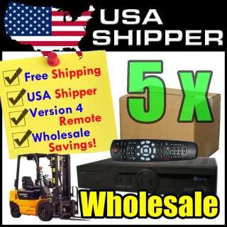 5x Wholesale Openbox S10 HD PVR HDMI DVB S2 FTA Satellite Receiver