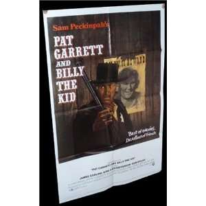Pat Garrett and Billy the Kid SAM PECKINPAH ORIGINAL MOVIE