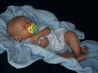 Reborn Vinyl Doll Kit Peach Baby QUINTON Marissa May 20 Supplies 4465