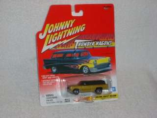 Johnny Lightning Thunder Wagons Custom Chevy Wagon