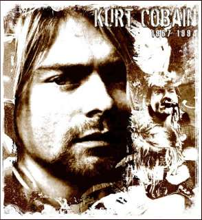 Kurt Cobain Nirvana Iron On Transfer #3